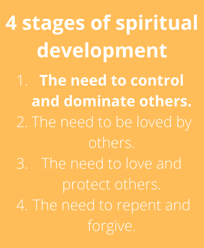 4 stages of spiritual development stage 1