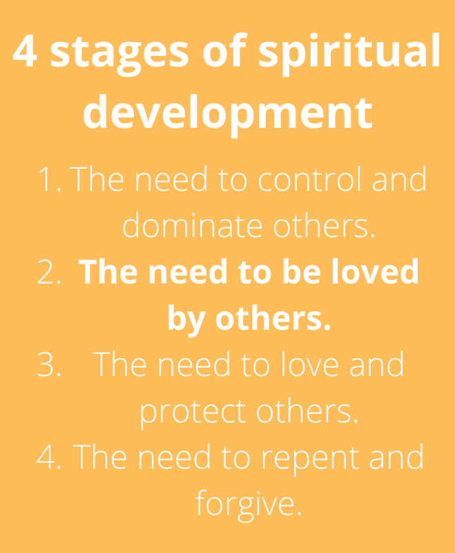 4 stages of spiritual development stage 2