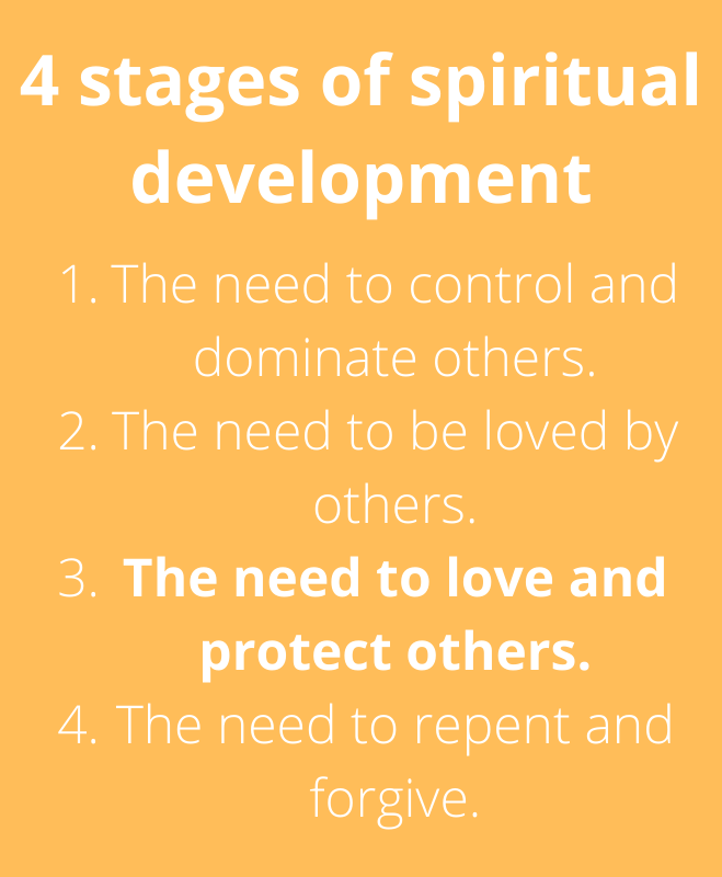 4 stages of spiritual development stage 3