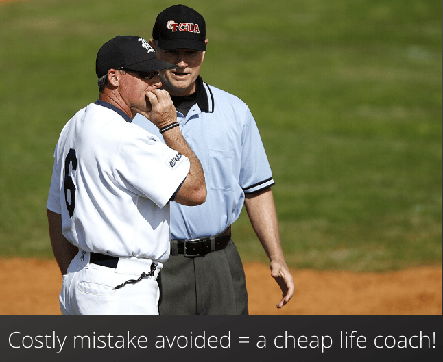 Cheap Life Coach Toronto Costly mistake avoided