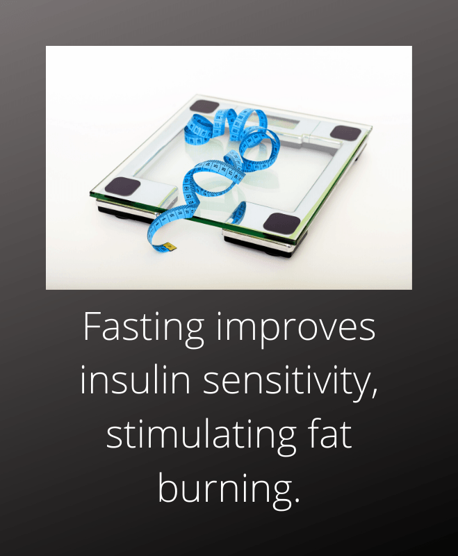 Fasting improves insulin sensitivity stimulating fat burning