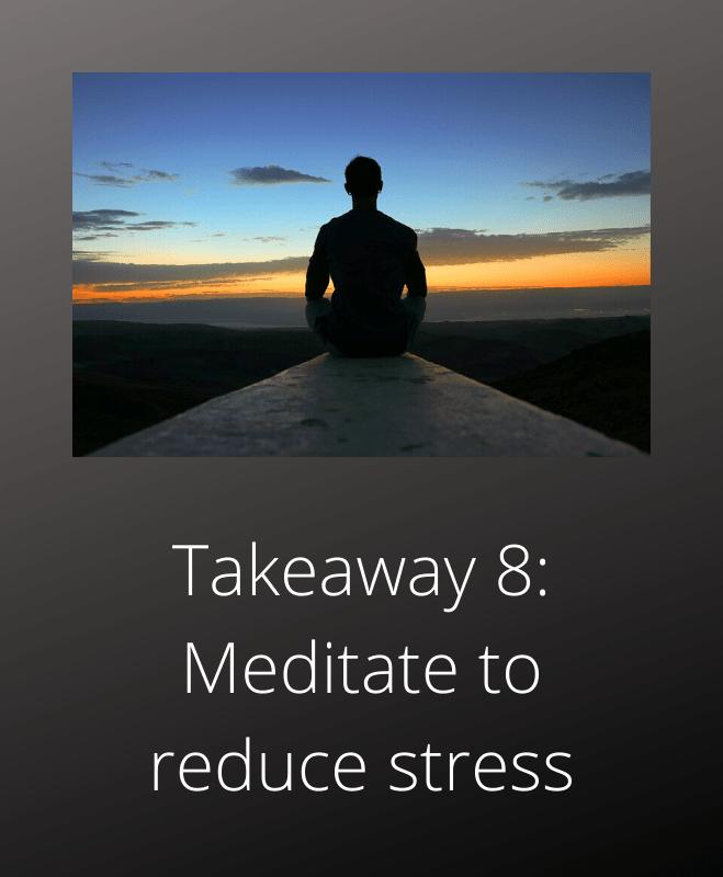Total Recall Arnold Schwarzenegger takeaway 8 meditation