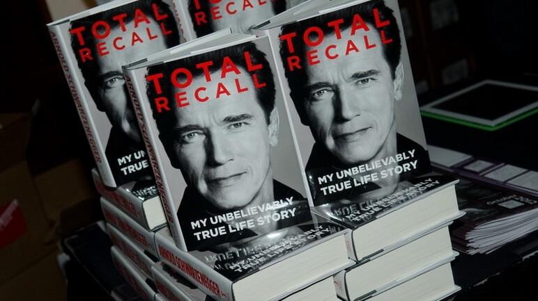 Total Recall autobiography by Arnold Schwarzenegger