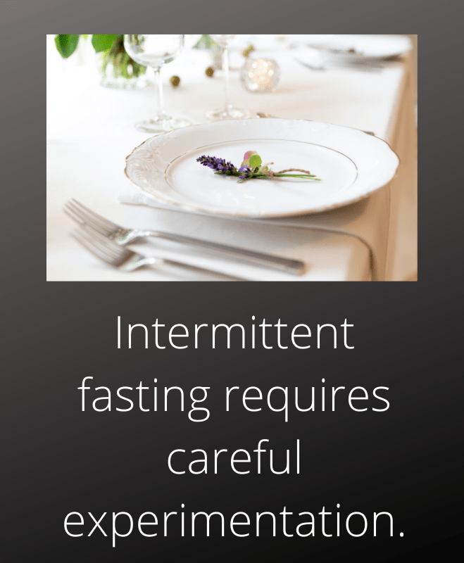 Weight loss coach Toronto Intermittent fasting experimentation