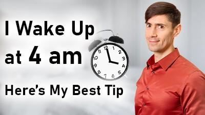 I Wake Up at 4 am - Life Coach Toronto Roman Mironov - Self-Help Video