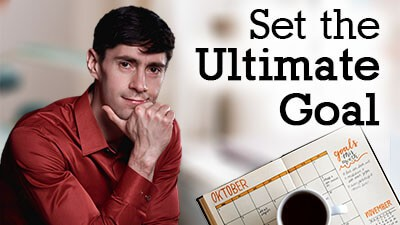 Set the Ultimate Goal - Life Coach Toronto Roman Mironov - Self-help video