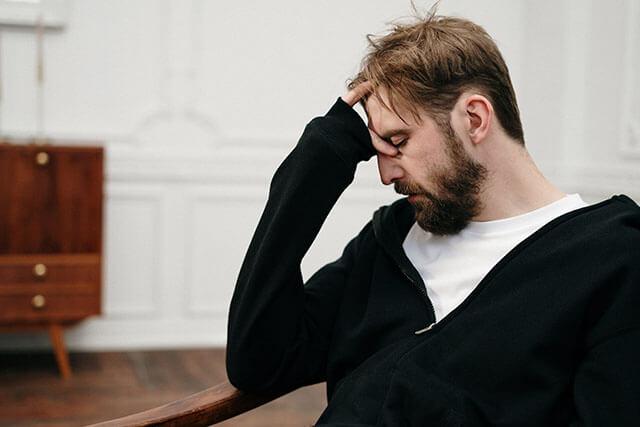 nofap help man having unpleasant talk