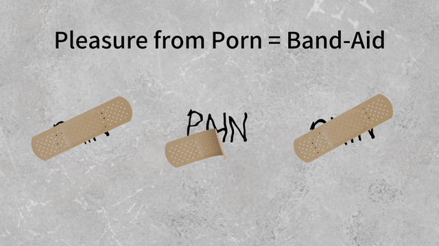 pleasure from porn is a band-aid - Heal Brain From Pornography - NoFap Coach Toronto Roman Mironov