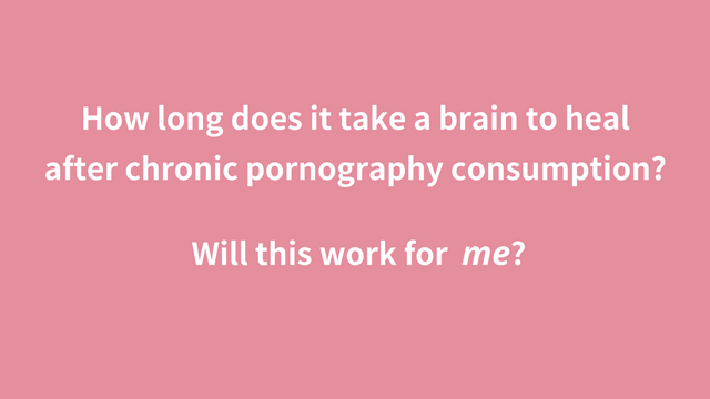 would this work for me? - Heal Brain From Pornography - NoFap Coach Toronto Roman Mironov - Self-Help Video